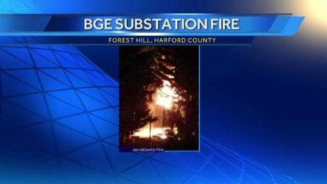 substation fire