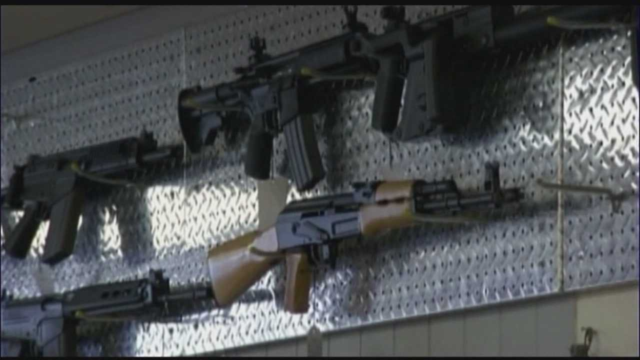 Gun background check backlog inundates police