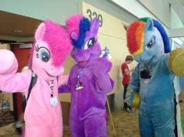 My Little Pony was a beloved childhood cartoon that was born in the 80s and grew into toys, a TV series and a feature-length film. Grown men will celebrate the franchise at the 2013 BronyCon in Baltimore. More