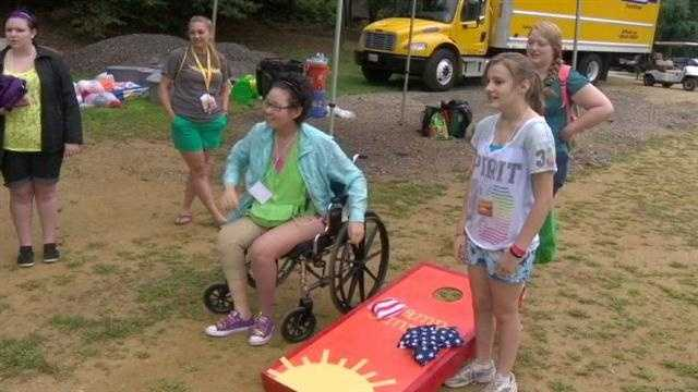 Camp Sunrise for cancer kids