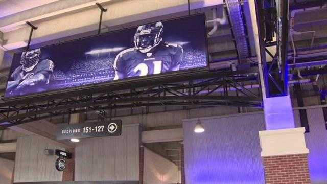 M&T Bank Stadium adds new foods, video boards