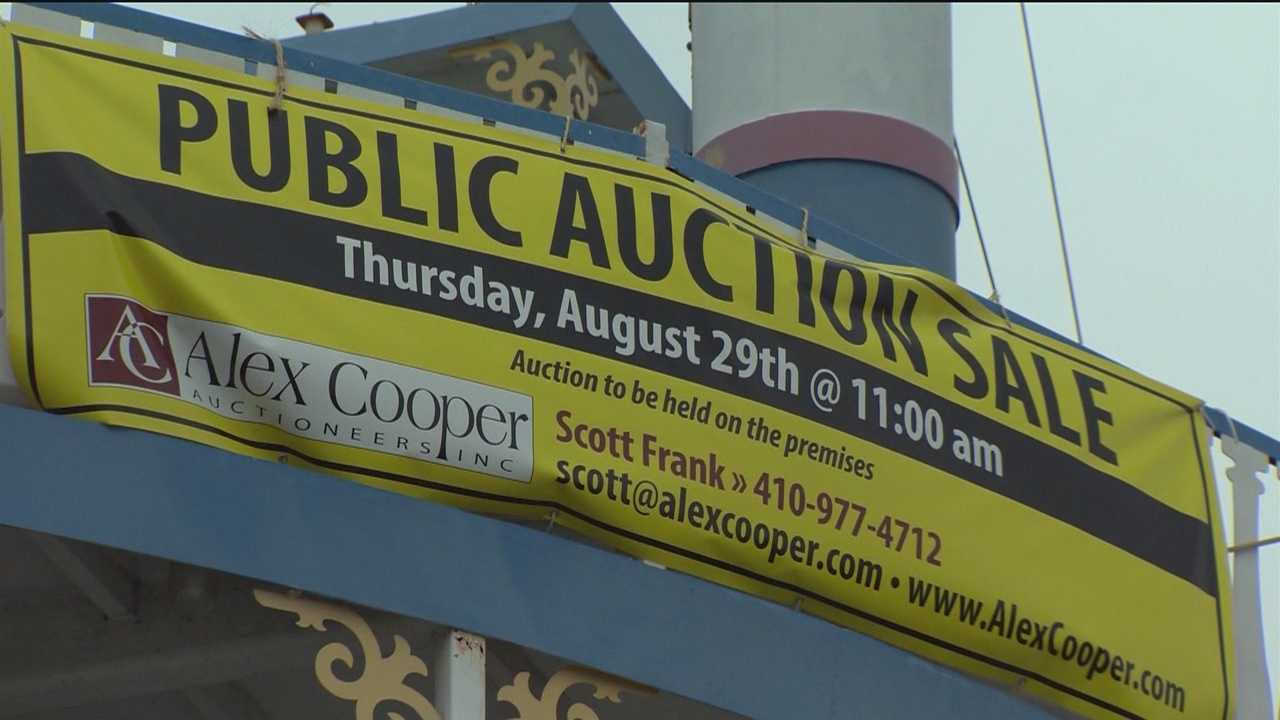 High-end diner, cruise ship on the auction block