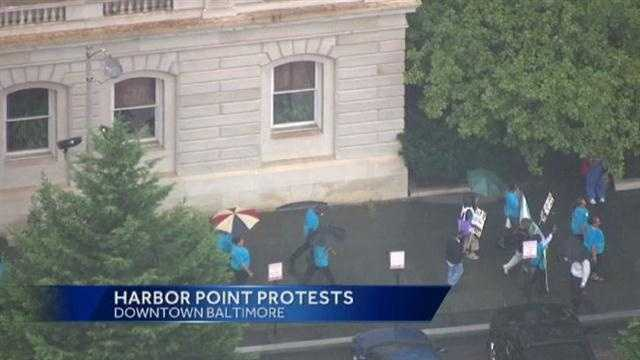 Harbor Point protests