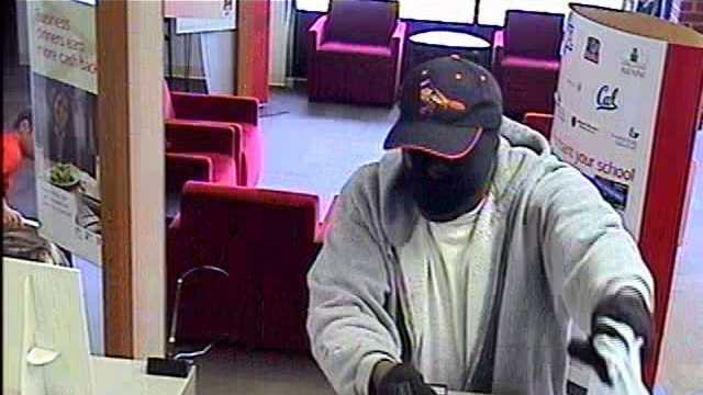 The Carroll County Sheriff's Office says this man robbed at gunpoint the Bank of America in the 6400 block of Ridge Road in Eldersburg around 9:20 a.m. Thursday.