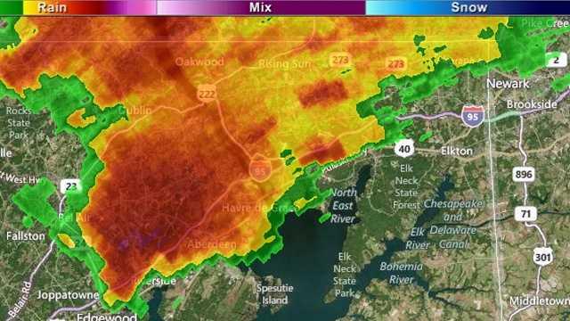 8-13 am radar image