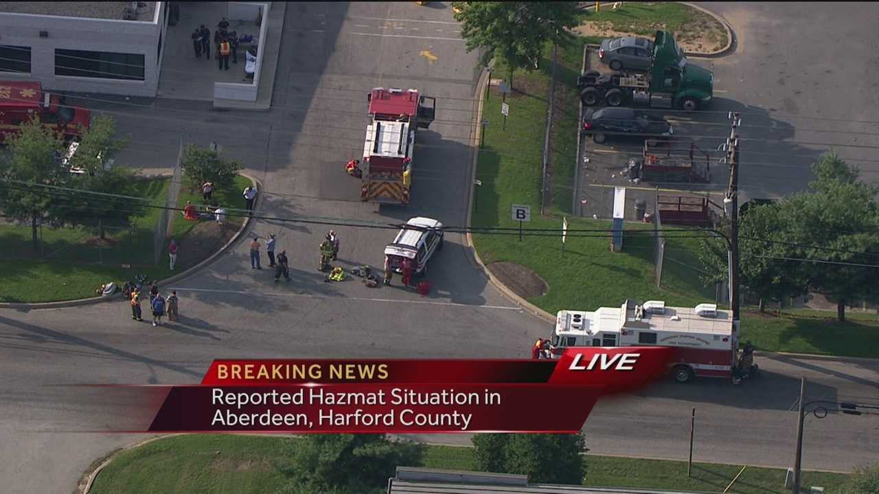 Hazmat leak in Aberdeen photo
