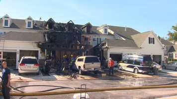 Officials said the fire caused about $300,000 in damage.