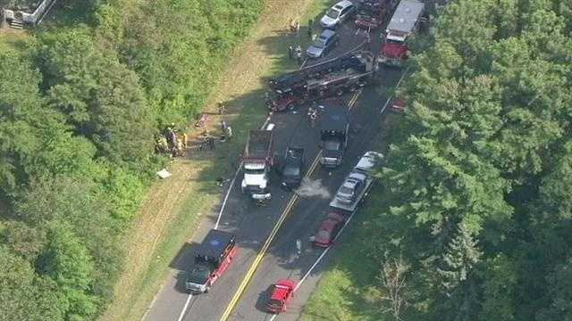 Mountain Road crash