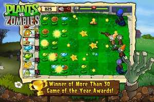 Now to the free iPhone Apps:Plants vs. Zombies 2 ranks first