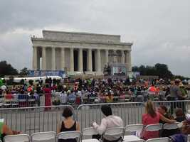 Maryland Gov. Martin O'Malley speaks at the 50th anniversary commemoration of the March on Washington.