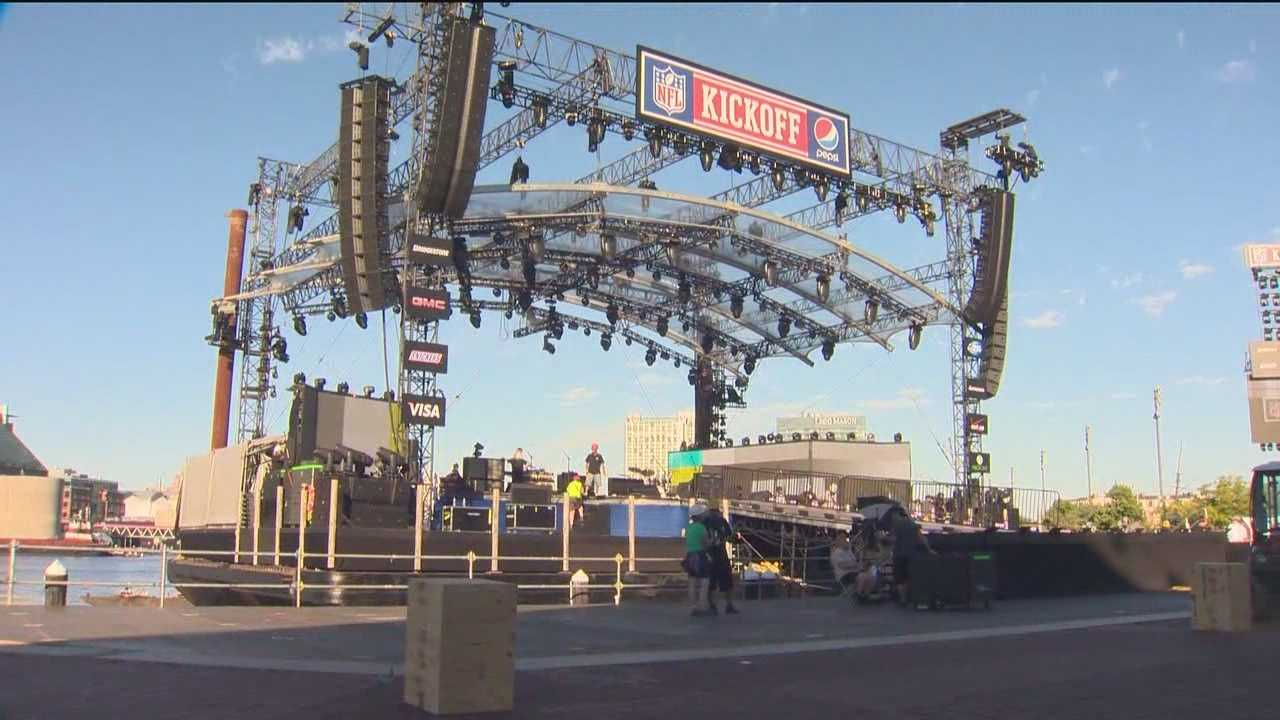 City ready for Keith Urban, NFL kickoff