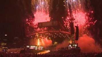 Afterward, fireworks!