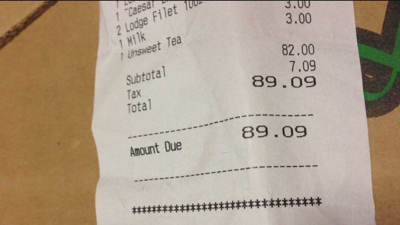 Restaurant overtaxed customers for 2 weeks