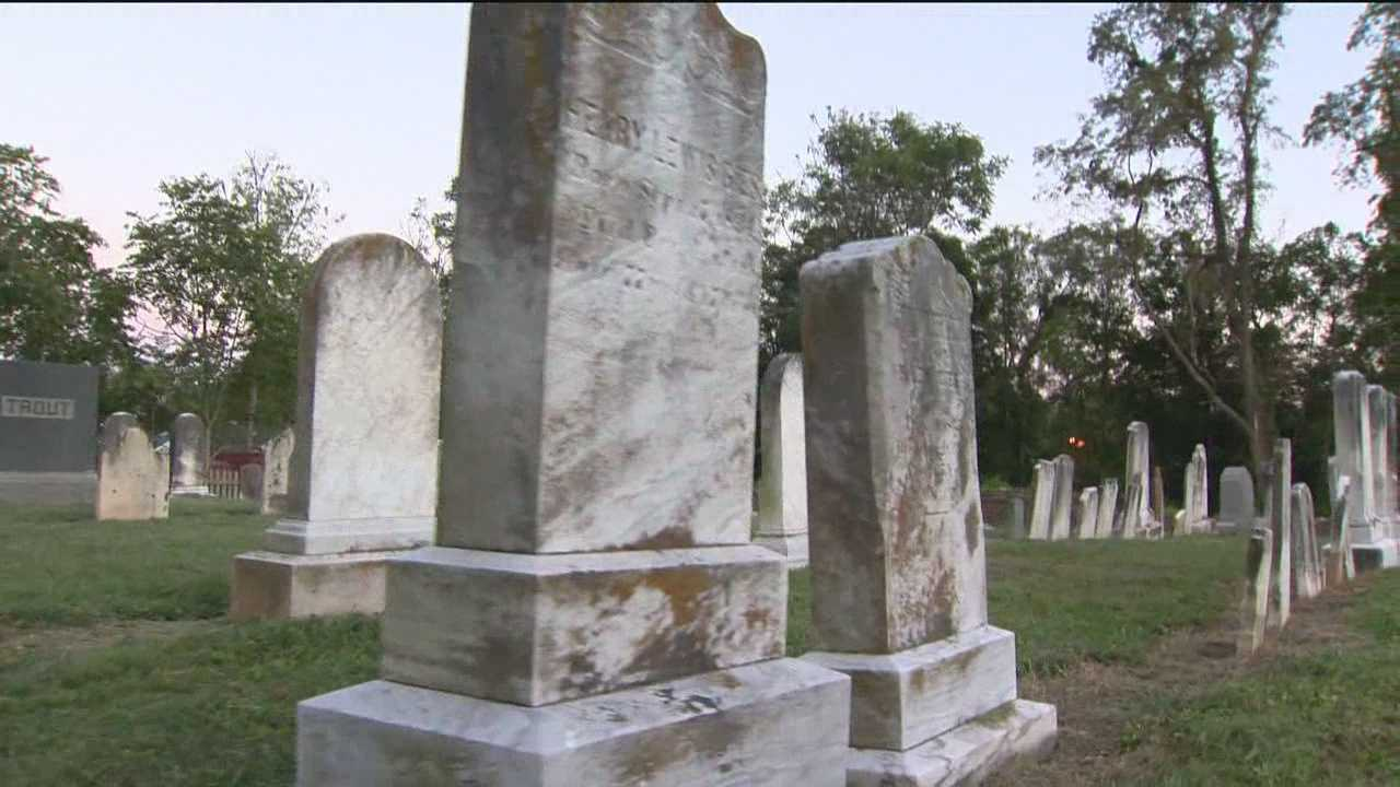 Historic Reisterstown cemetery in disrepair