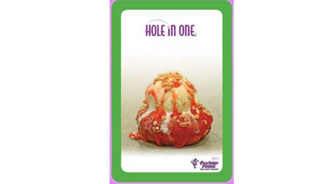 Fractured Prune hole in one donut