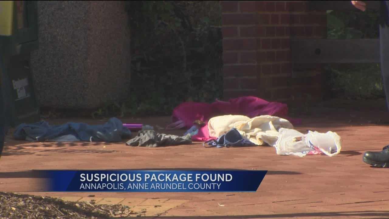 Suspicious package detonated in Annapolis