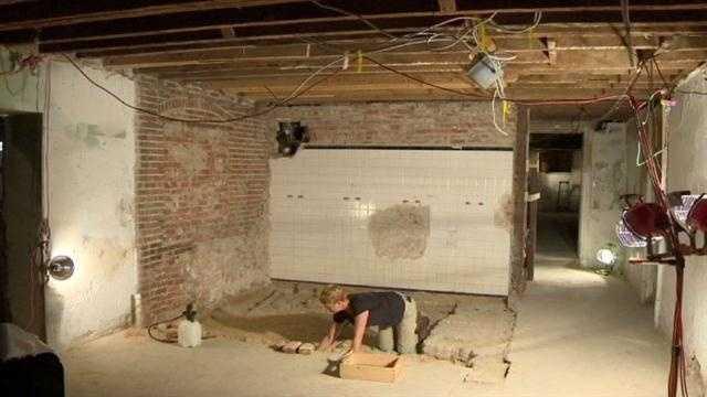 Clifton Park mansion renovations