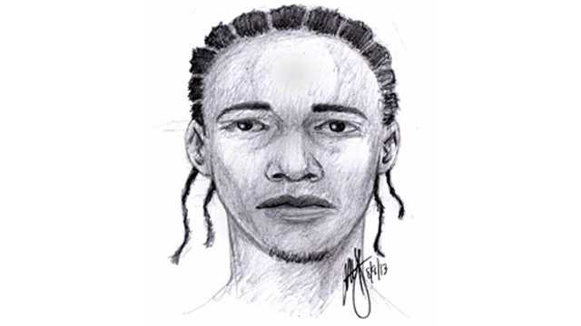 Sex offense suspect sketch