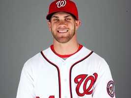 15. Bryce Harper, Nationals