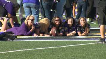 """The Baltimore Ravens' female fan base rallied at M&T Bank Stadium Monday for the annual """"A Purple Evening."""""""