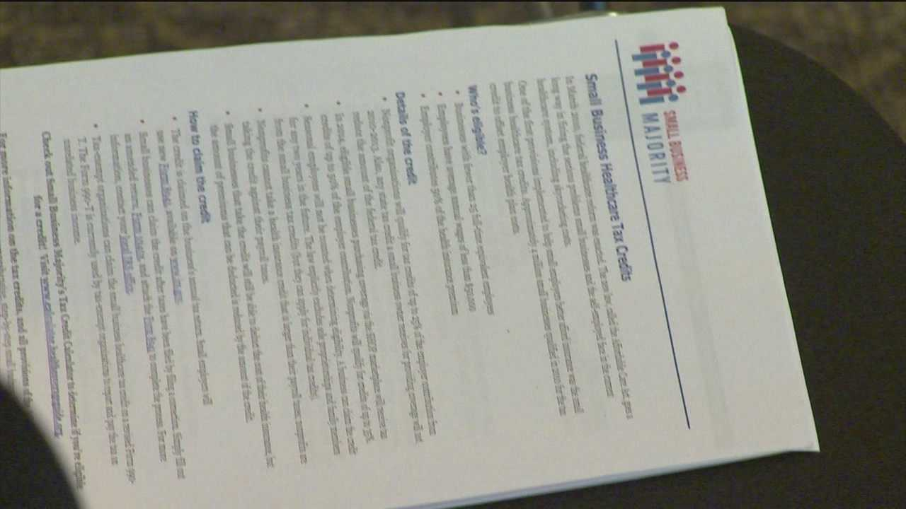 Letter spells out health care tax credits