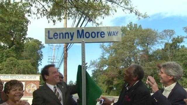 Lenny Moore Way