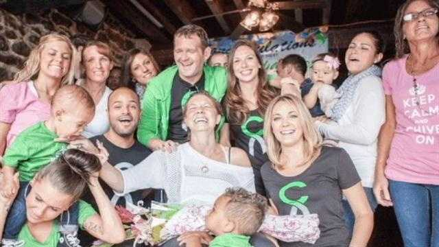 Melissa Smith the Chive fundraiser