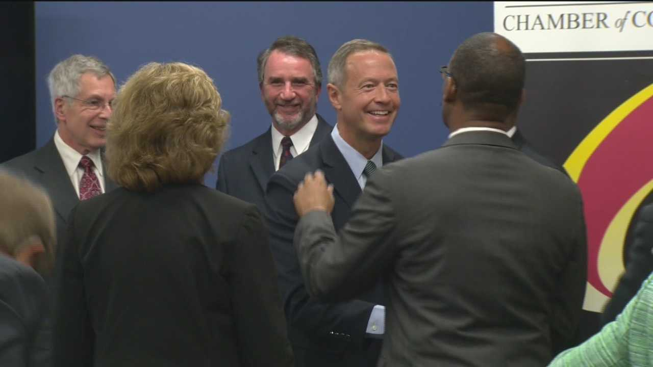 Governor's approval drops among Marylanders surveyed