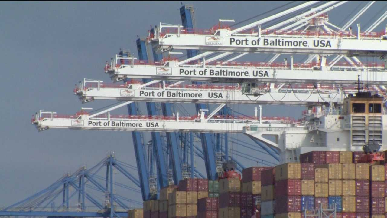 Port strike effect ripples across Maryland