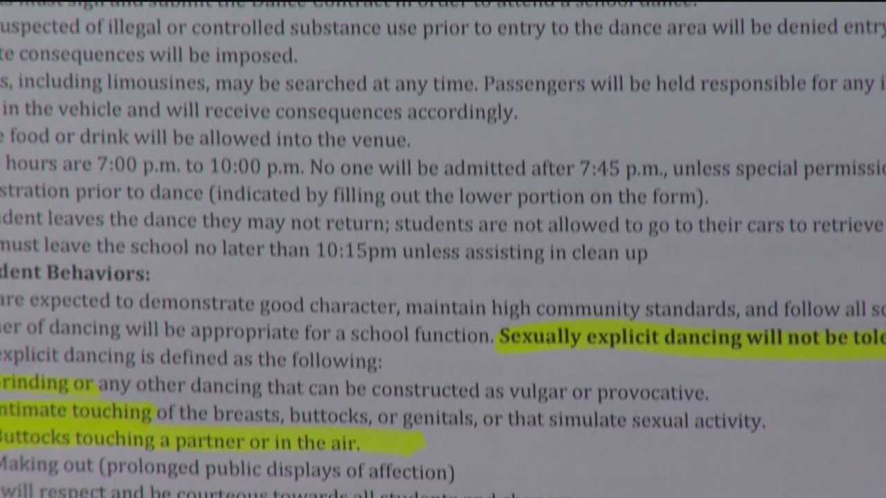 School's twerking ban contract stirs controversy