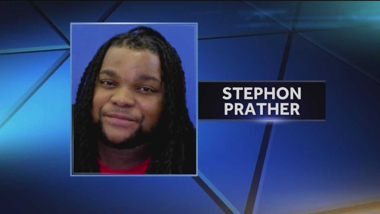 Stephon Prather, 29, a man Howard County police said shot an officer in north Laurel was captured Thursday morning.