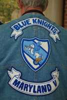 The Blue Knights International Law Enforcement Motorcycle Club Maryland III is comprised of off-duty or retired police officers and former military personnel, who like to ride and to help out kids in need.