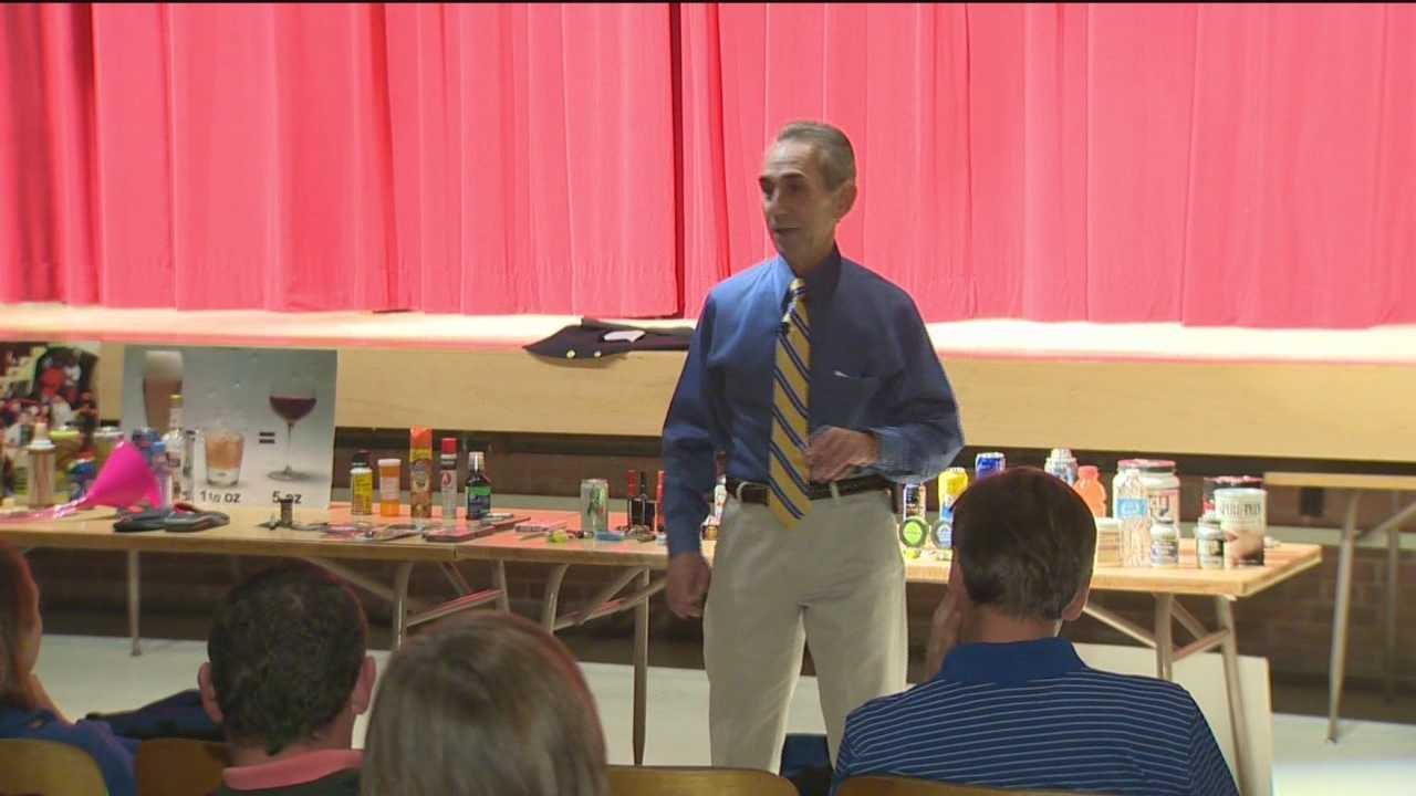 Drug, alcohol expert educates parents on new trends