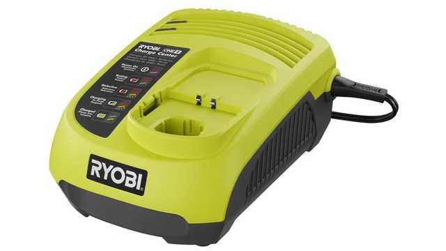 Ryobi P113 battery charger