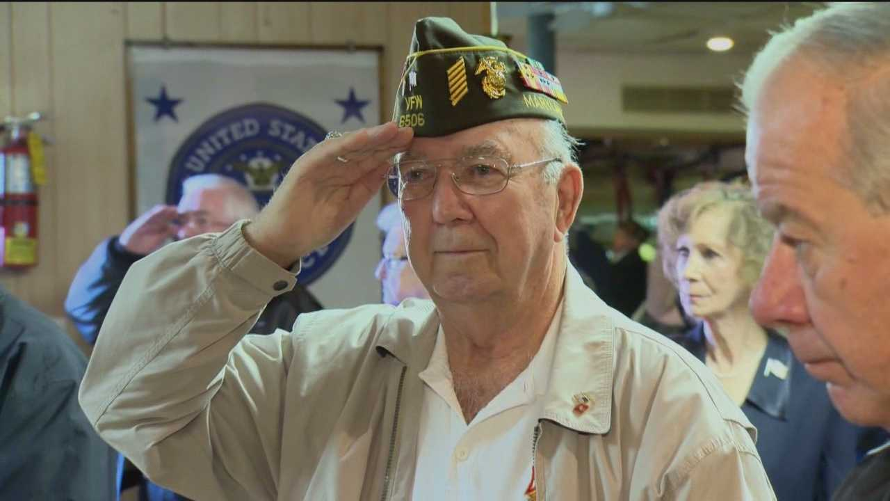 Area businesses found some unique ways to give back to servicemen and servicewomen of Maryland during Veterans Day.