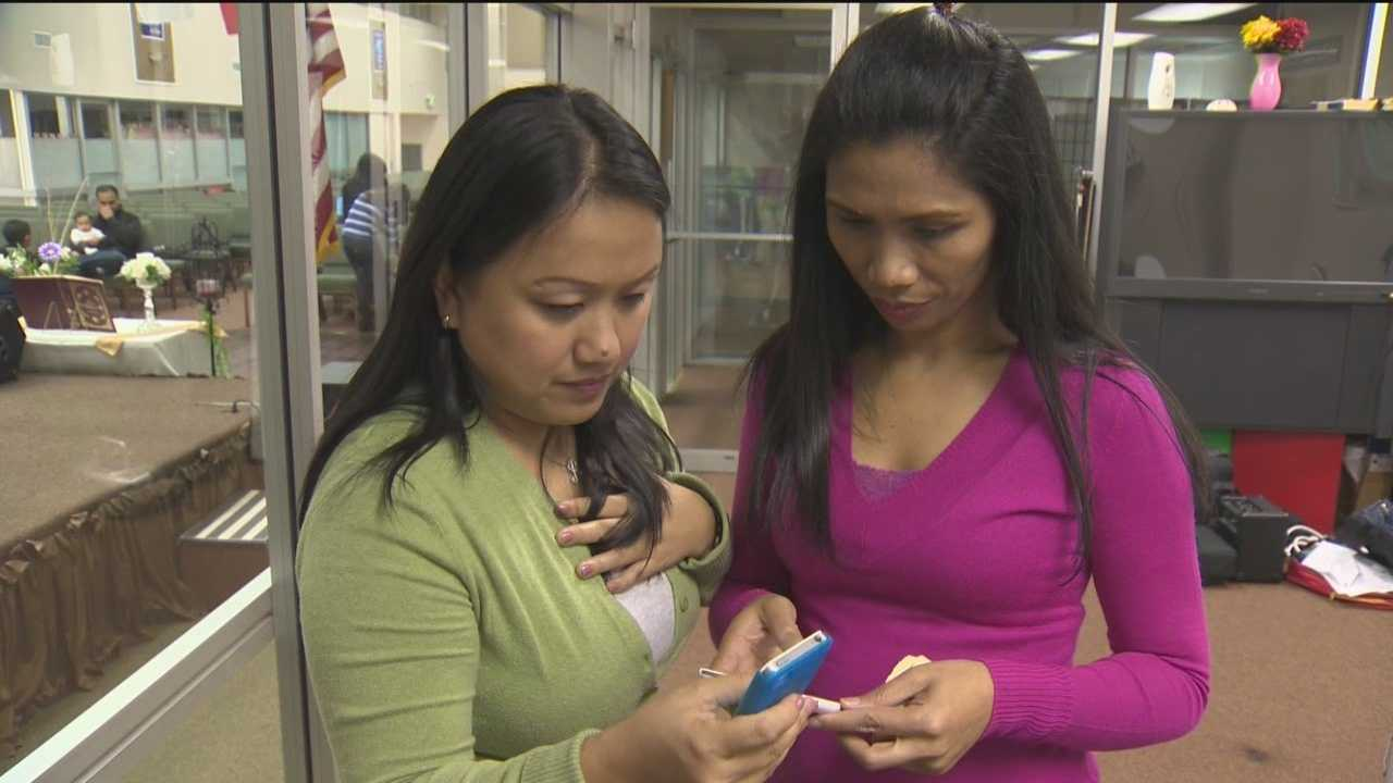 Md. Filipino families wait to hear from relatives