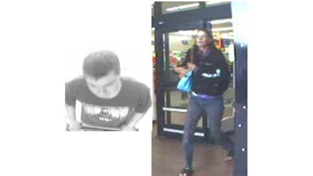 Purse snatching in Abingdon surveillance
