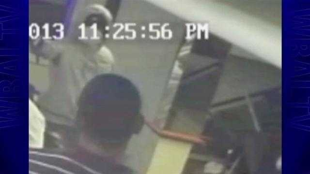 Police are looking for this man in connection with a fatal barber shop shooting on Frankford Avenue in Baltimore.