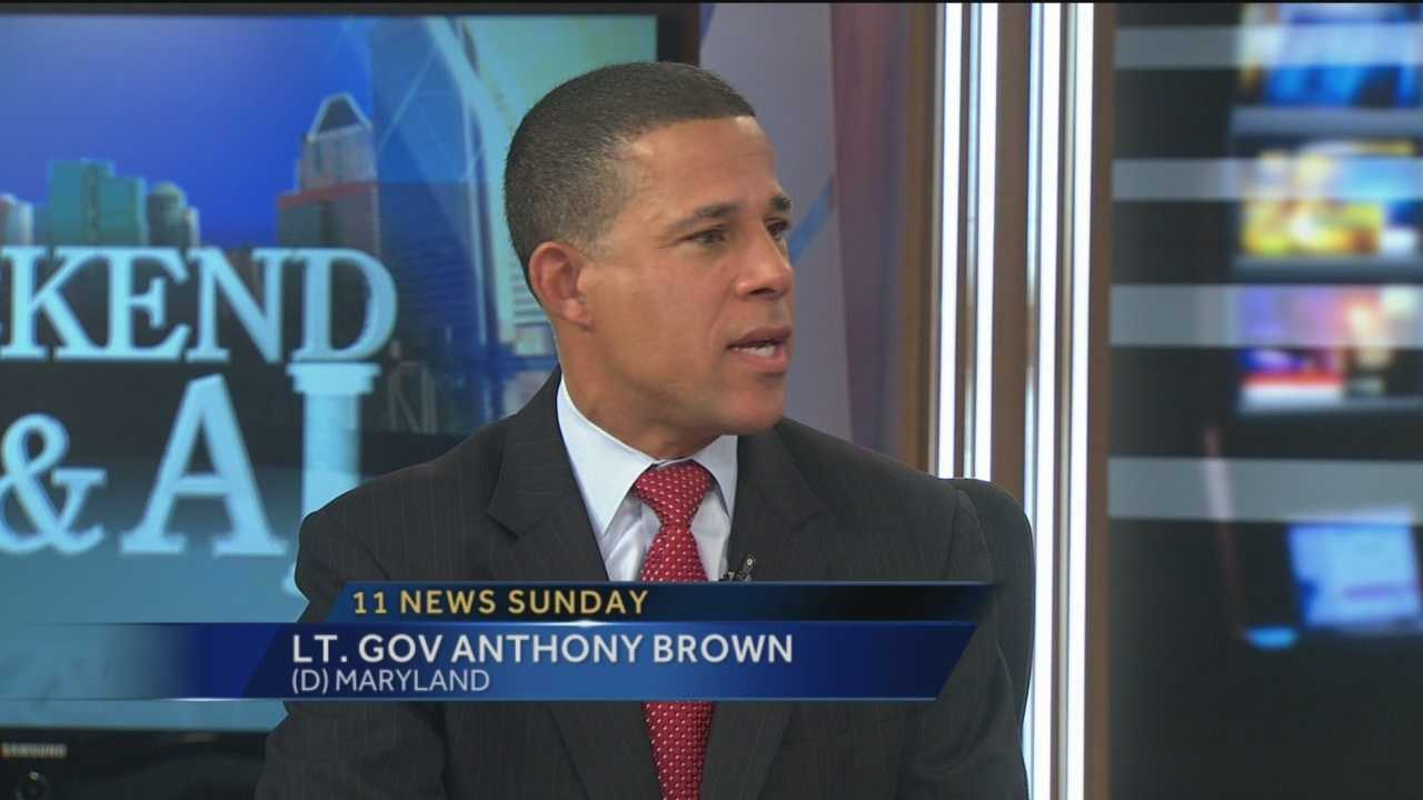 Sunday Q & A Lt. Gov. Anthony Brown