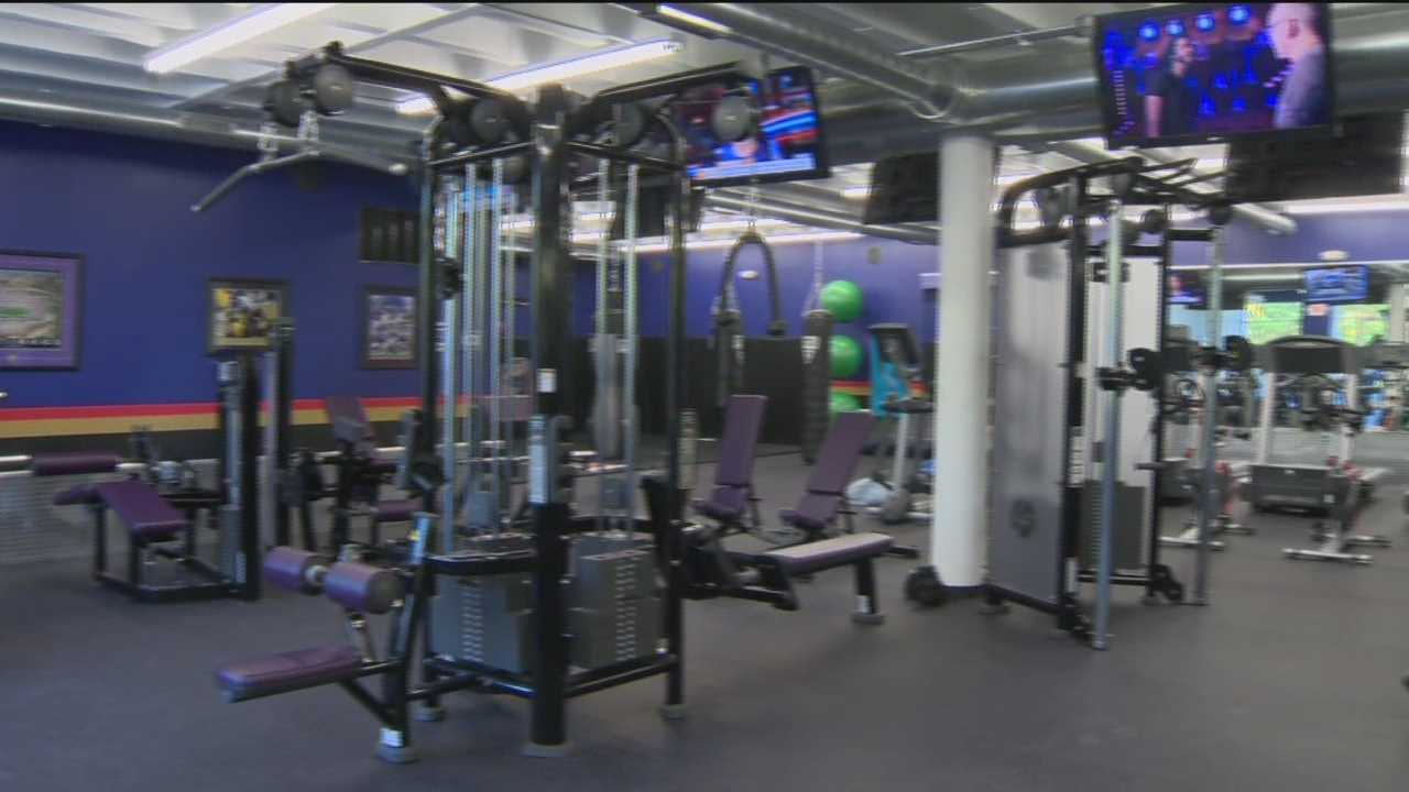 Storage space transformed into state-of-the-art gym