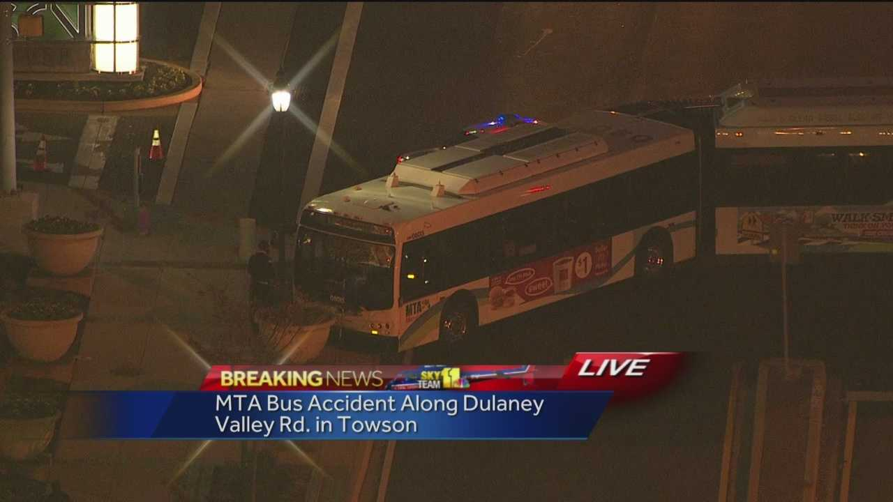 MTA bus crash