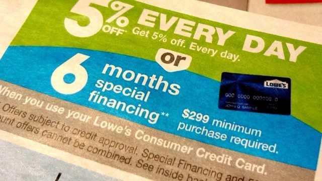 deferred interest credit