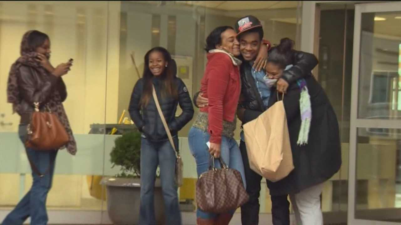 College student mistakenly taken into custody