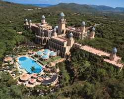 """Hotel: Sun International: The Maslow & Palace of the Lost City/South AfricaOffer: $100 off """"Suit & Safari"""" package plus dinner for two at the Maslow HotelValid for Travel: Jan. 10 - April 16, 2014 and April 22 - May 31, 2014Reservations: Book online at http://www.flysaavacations.com/south-africa-travel/suit-and-safari or call 855-359-7228. Reference Cyber Monday."""