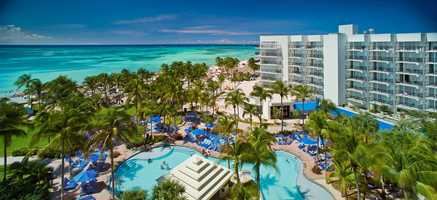 Hotel: Aruba Marriott Resort & Stellaris Casino/Palm Beach, ArubaOffer: Purchase three consecutive nights and receive the next three consecutive nights free, as low as $389/nightValid for Travel: April 20 – Nov. 22, 2014Reservations: Book online at arubamarriott.com with promo code D52