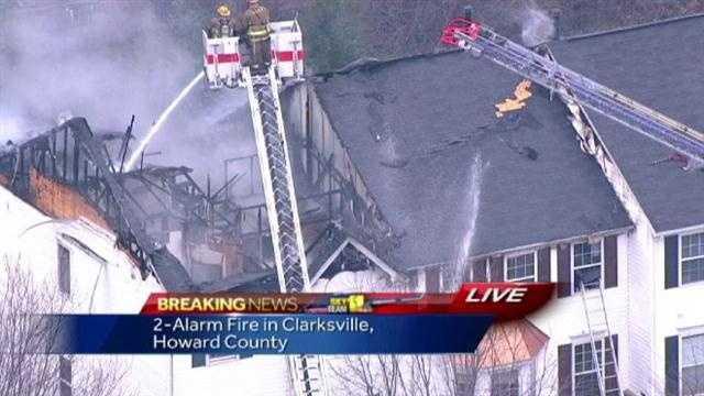 Clarksville fire