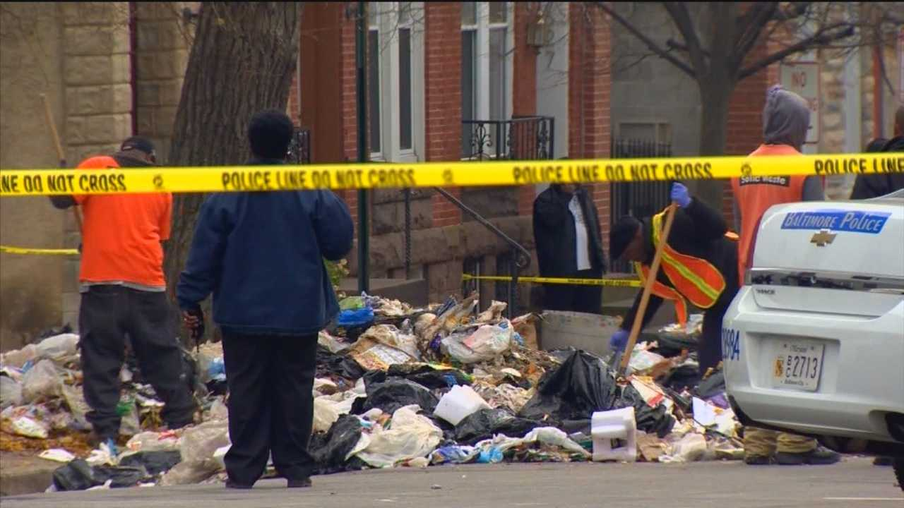 Search for baby in trash can a hoax?