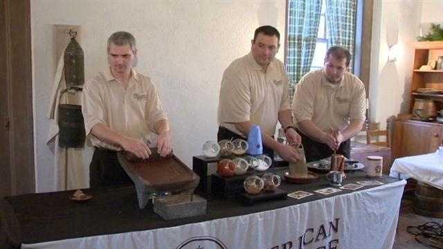 18th century chocolate making