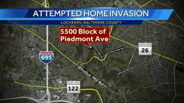 Piedmont Ave home invasion graphic