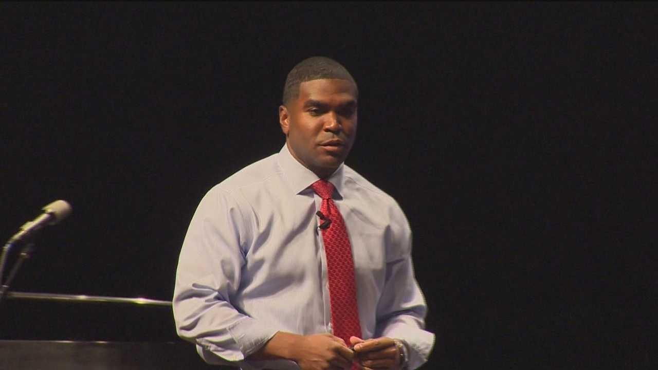Baltimore County Schools Superintendent Dallas Dance